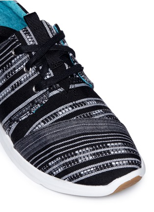 Detail View - Click To Enlarge -  - 'Del Rey' tribal stripe jacquard sneakers