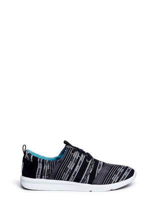 Main View - Click To Enlarge -  - 'Del Rey' tribal stripe jacquard sneakers