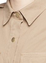 'Citadel' cotton twill military rompers