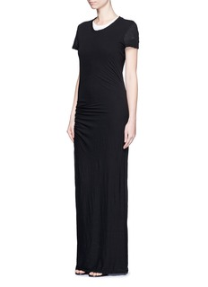 JAMES PERSE High gauge cotton T-shirt maxi dress