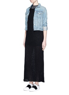 JAMES PERSE Web jersey maxi dress