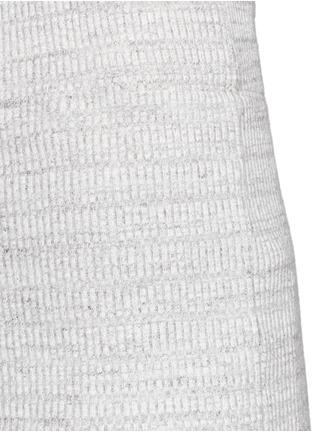 细节 - 点击放大 - JAMES PERSE - 条纹棉质铅笔裙