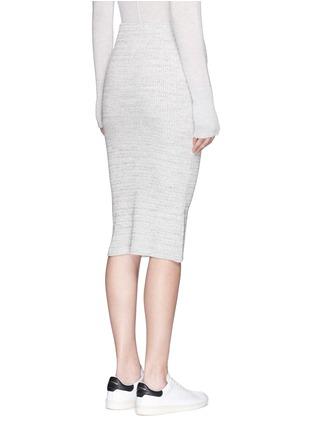 背面 - 点击放大 - JAMES PERSE - 条纹棉质铅笔裙