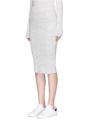 正面 -点击放大 - JAMES PERSE - 条纹棉质铅笔裙