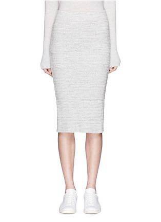 首图 - 点击放大 - JAMES PERSE - 条纹棉质铅笔裙