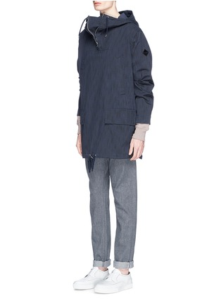 Figure View - Click To Enlarge - Paul Smith - Water resistant cotton blend twill pullover parka