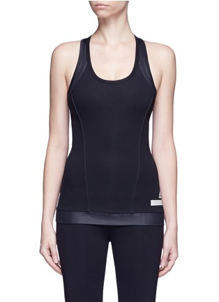 Main View - Click To Enlarge - Adidas By Stella Mccartney - 'The Performance' tech jersey tank top