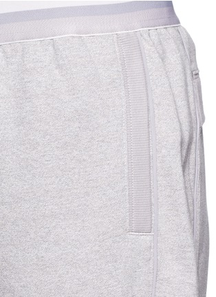 Detail View - Click To Enlarge - Adidas By Stella Mccartney - 'ESS' elastic waist organic cotton blend sweatpants