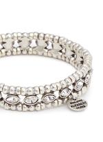 'Beth' crystal bead elastic bracelet