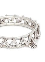 'VIWY' crystal bead cutout elastic bracelet