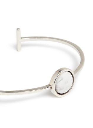 Detail View - Click To Enlarge - Philippe Audibert - Lozzi' round stone bracelet