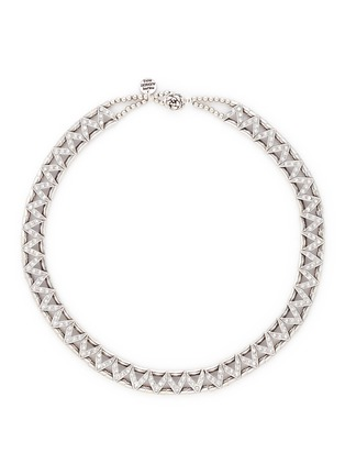 Philippe Audibert-'VIWY' crystal bead cutout necklace