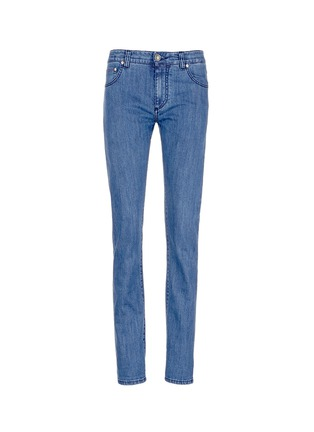 Main View - Click To Enlarge - ISAIA - Cotton denim jeans