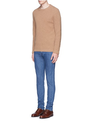 Figure View - Click To Enlarge - ISAIA - Cotton denim jeans