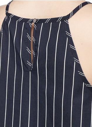 细节 - 点击放大 - NICHOLAS - 喇叭形衣摆条纹吊带背心