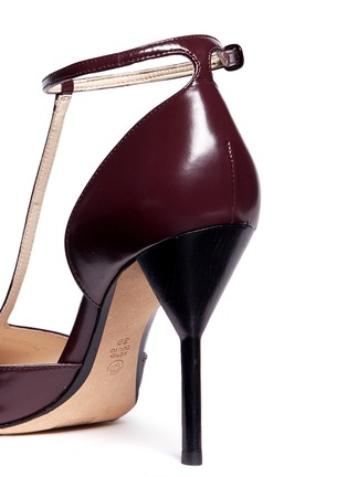 Detail View - Click To Enlarge - 3.1 Phillip Lim - 'Martini' T-strap leather pumps