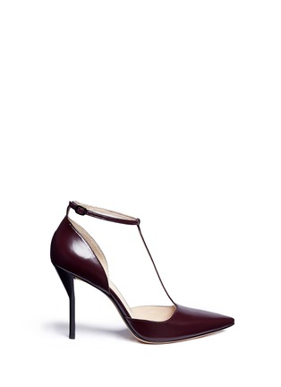 Main View - Click To Enlarge - 3.1 Phillip Lim - 'Martini' T-strap leather pumps