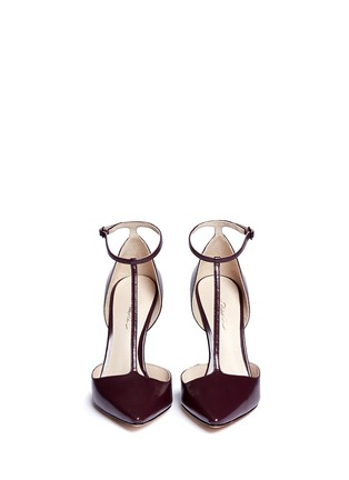 Figure View - Click To Enlarge - 3.1 Phillip Lim - 'Martini' T-strap leather pumps