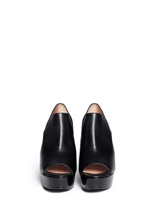 Figure View - Click To Enlarge - Robert Clergerie - Cutout platform wedge sandals