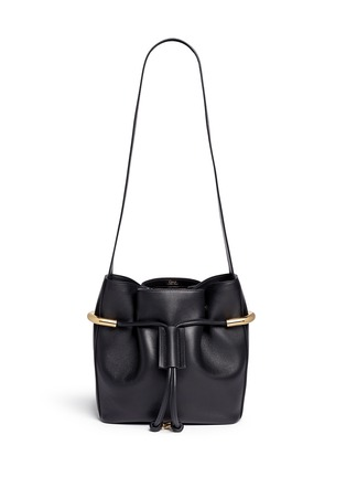 Main View - Click To Enlarge - Chloé - 'Emma' small leather drawstring bucket bag
