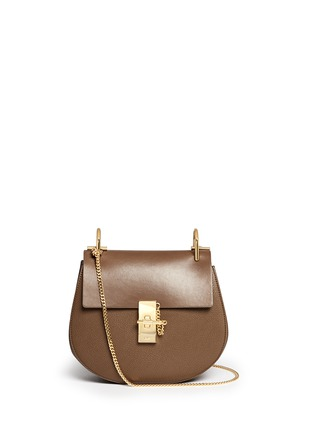 Main View - Click To Enlarge - Chloé - 'Drew' small leather shoulder bag