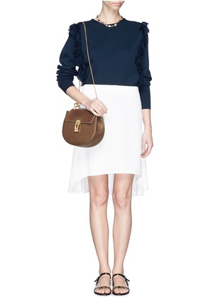 Figure View - Click To Enlarge - Chloé - 'Drew' small leather shoulder bag