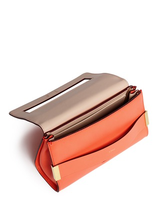 Detail View - Click To Enlarge - Chloé - 'Elle' leather clutch