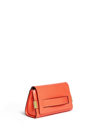 Front View - Click To Enlarge - Chloé - 'Elle' leather clutch