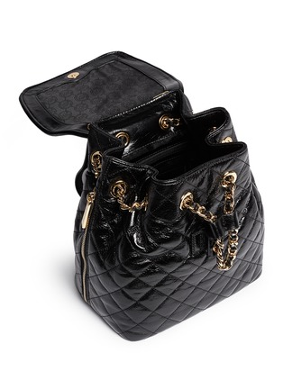 - Michael Kors - 'Susannah' quilted leather backpack