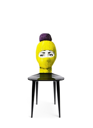 Main View - Click To Enlarge - Fornasetti - Lux Gstaad chair - Yellow/Pompom Violet