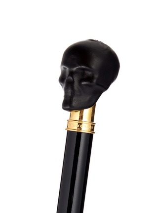 Alexander McQueen - Leather skull handle umbrella