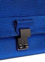 'Pashli' mini metallic leather messenger bag