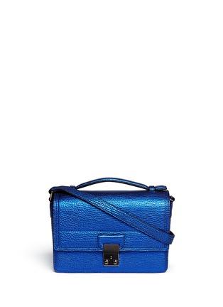 3.1 PHILLIP LIM-'Pashli' mini metallic leather messenger bag