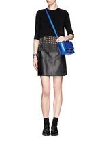 3.1 PHILLIP LIM'Pashli' mini metallic leather messenger bag