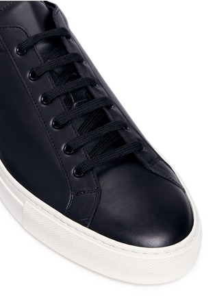 Detail View - Click To Enlarge - Common Projects - 'Achilles Retro' leather sneakers