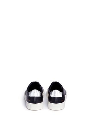 Back View - Click To Enlarge - Common Projects - 'Achilles Retro' leather sneakers