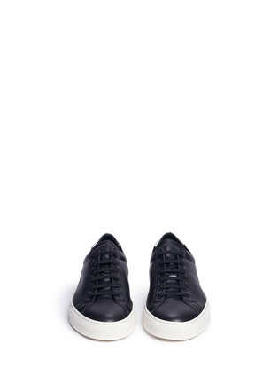 Front View - Click To Enlarge - Common Projects - 'Achilles Retro' leather sneakers