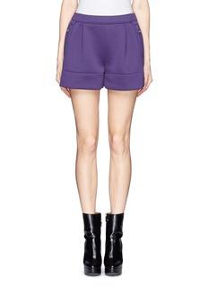 3.1 PHILLIP LIMElastic back techno jersey cuff shorts