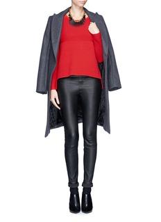 HELMUT LANGPlov' high low wool rib sweater