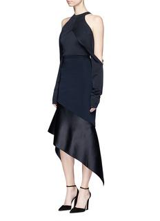 Dion LeeSleeve release sleeveless knit top