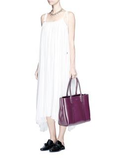 Lanvin'Shopper' small lace-up tassel tote
