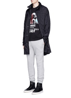 Alexander Wang Packable hood windbreaker coat