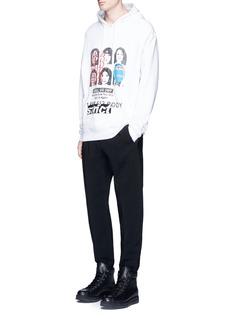 Alexander Wang Pintucked leg hopsack jogging pants