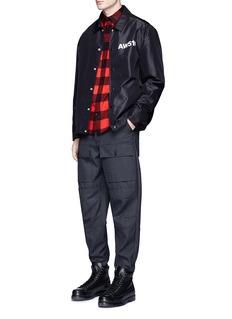 Alexander Wang 'AW510' print coach jacket