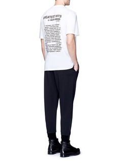 Alexander Wang  'Mixtape' graphic cotton T-shirt