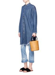 Simon Miller'Bonsai' calfskin leather bucket bag