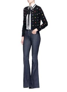 alice + olivia'Sylvie' embellished wool cardigan