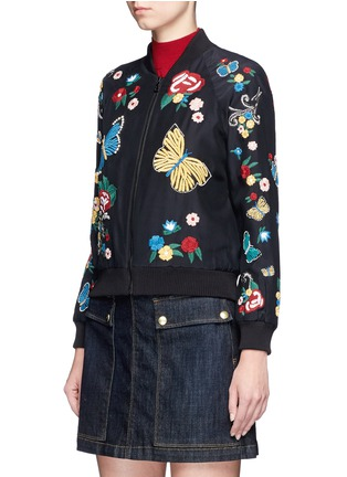 Alice  Olivia  39felisa39 Floral And Butterfly Embroidered