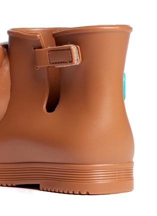 Detail View - Click To Enlarge - Melissa - x Jeremy Scott 'Monkey' inflation appliqué toddler boots