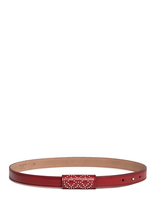 Alaïa - 'Arabesque' stud leather belt